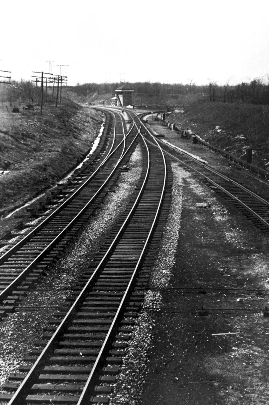 Lehigh Valley Railroad Niagara Junction Corner Wire Diagram